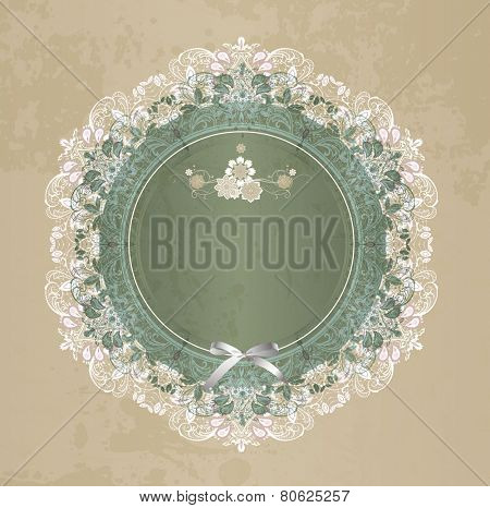 Elegant lace gentle background. Scrapbook elements.