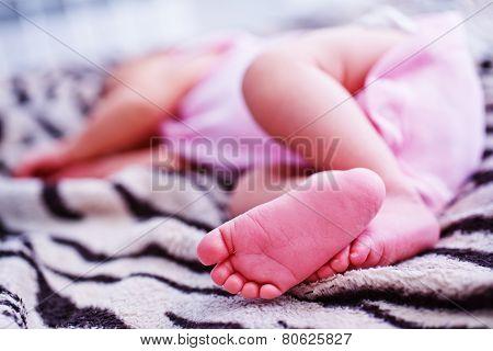 Bare Feet Baby