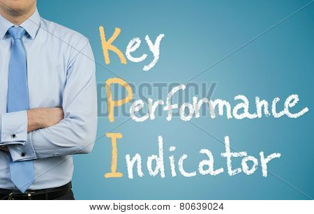 Businessman And Kpi