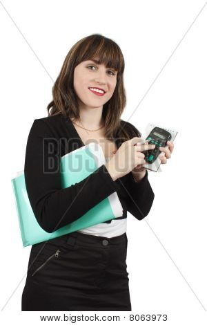 Beautiful Girl In Business