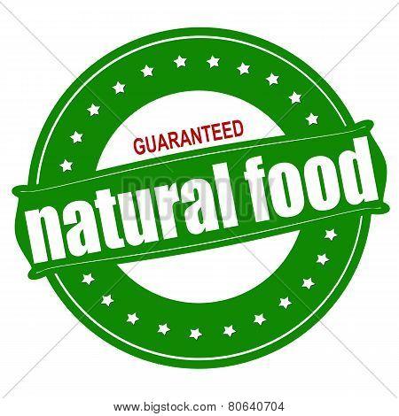 Natural Food Guaranteed