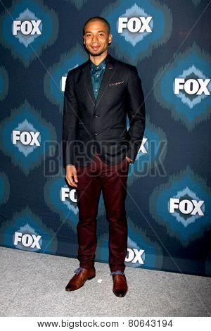 LOS ANGELES - JAN 17:  Jussie Smollett at the FOX TCA Winter 2015 at a The Langham Huntington Hotel on January 17, 2015 in Pasadena, CA