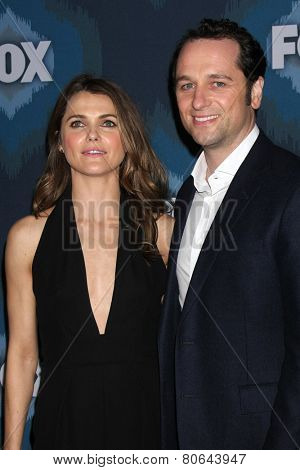 LOS ANGELES - JAN 17:  Keri Russell, Matthew Rhys at the FOX TCA Winter 2015 at a The Langham Huntington Hotel on January 17, 2015 in Pasadena, CA