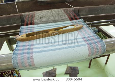 Shuttle of traditional loom