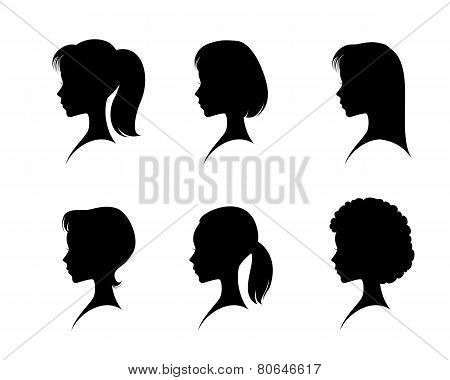 Silhouettes Head Girls