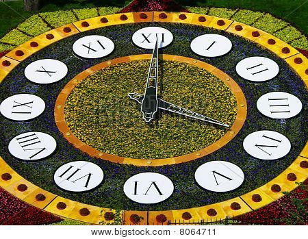 Flower Clock, Kiev, Ukraine