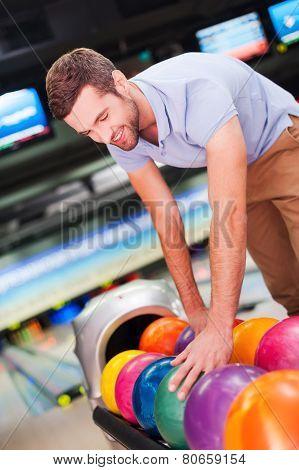 Choosing The Lucky Ball.