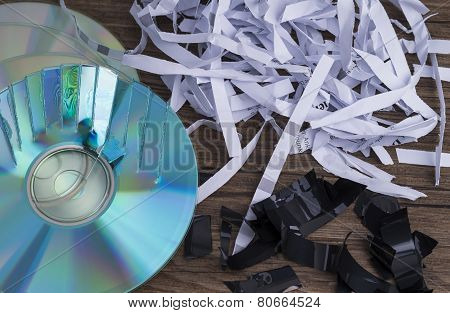 Data shredding