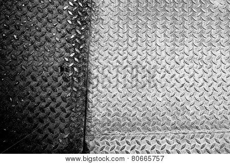 Grunge Diamond Plate