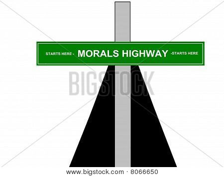 Morals Religious Sign