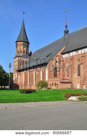 Koenigsberg Cathedral. Kaliningrad (former Konigsberg), Russia