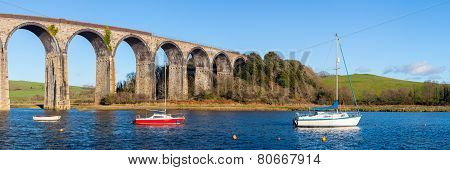 St Germans Viaduct Cornwall
