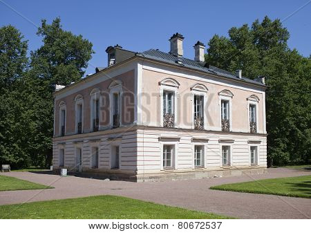 Oranienbaum (Lomonosov). Upper park. Palace of the emperor Pyotr III