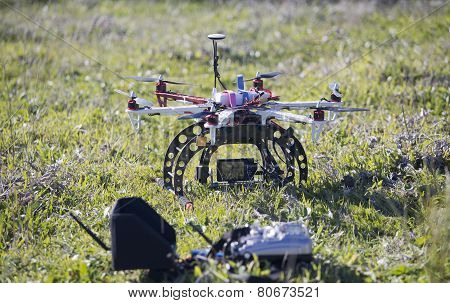 Drone In Green