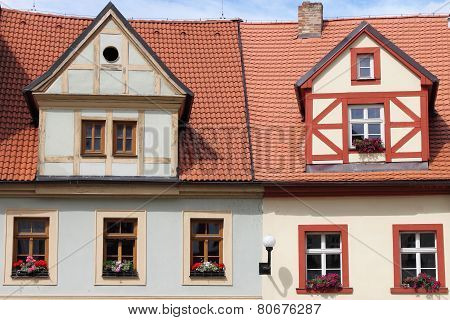 Traditional Timbered house