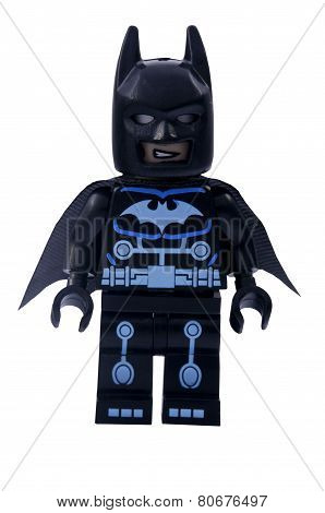 Electro Batman Minifigure