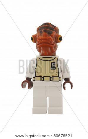 Admiral Ackbar Minifigure