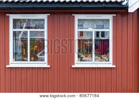 Traditional Wooden House In Oslo