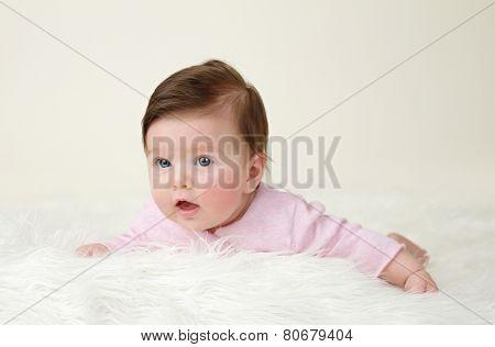 Newborn Baby Tummy Time