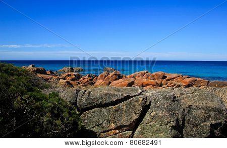 Coastline near Dunsborough, Western Australia