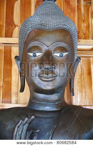 Serene Face Buddha