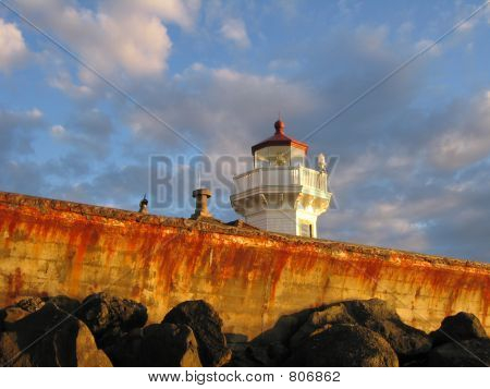 Mukilteo Lighthouse Over the Seawall