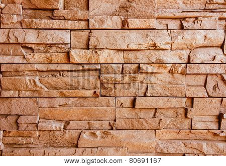 Strange Brick wall