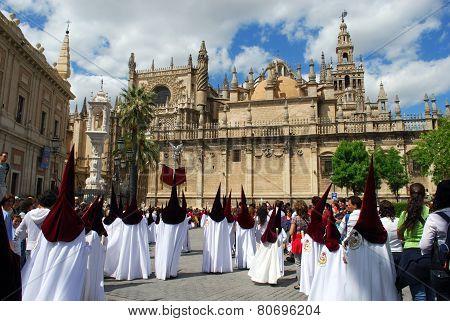 Santa Semana Procession, Seville.