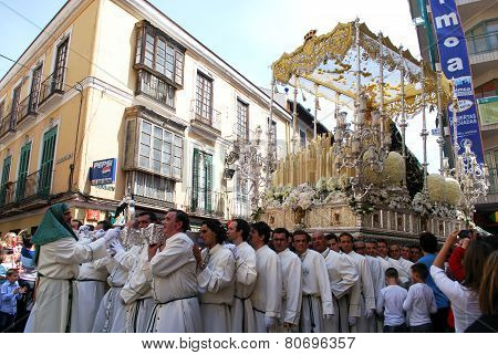 Santa Semana Procession, Malaga.