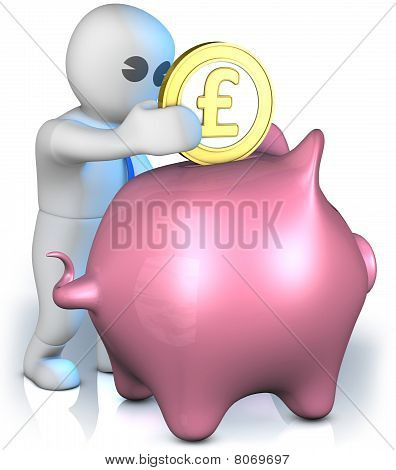 Pound Piggy Bank