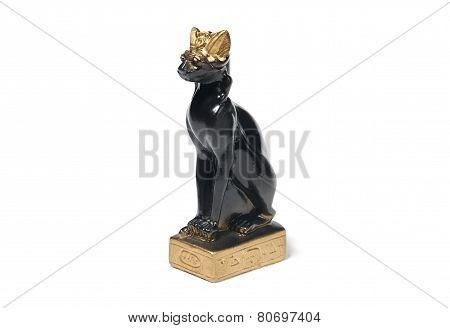 egyptian statuette