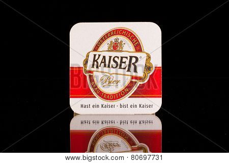 Beermat From Kaiser Beer