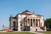 picture of vicenza  - Villa La Rotonda is a Renaissance villa just outside Vicenza in northern Italy and designed by Andrea Palladio - JPG