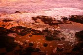 Sunset tidal pool