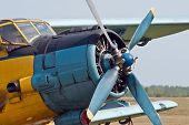 image of biplane  - Vintage single - JPG