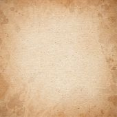 stock photo of untidiness  - Realistic brown cardboard stained texture - JPG