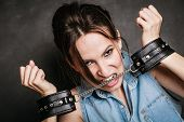 stock photo of sadomasochism  - Arrest and jail - JPG