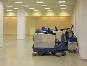 foto of premises  - The special electric car for cleaning of the big premises - JPG
