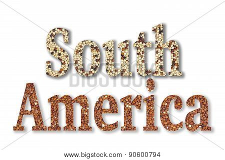 Text South America