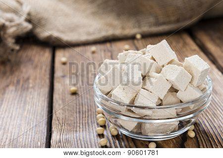 Portion Of Tofu