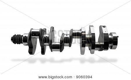 Crankshaft, part of internal combustion engine