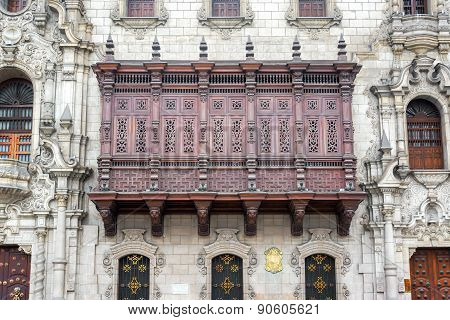 Historic Architecture In Lima, Peru