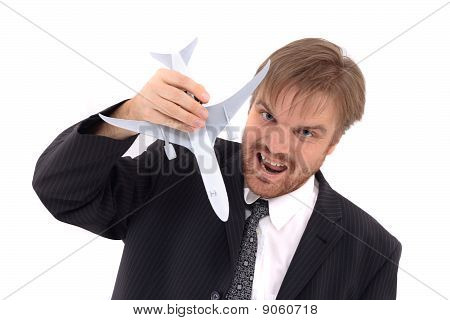 Man And Airplane