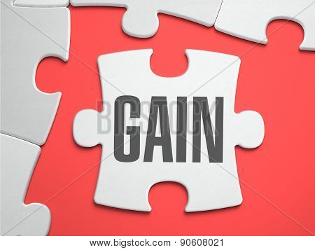 Gain - Puzzle on the Place of Missing Pieces.