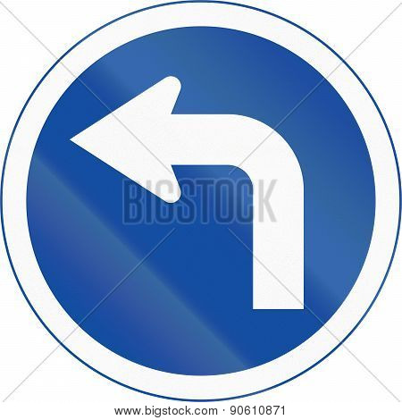 Turn Left Ahead In Botswana