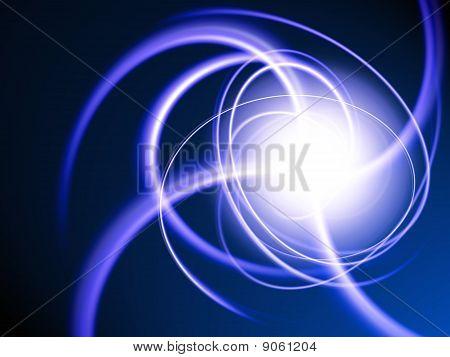 Blue particles
