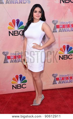 LOS ANGELES - MAR 29:  Ariel Winter arrives to the 2015 iHeartRadio Music Awards  on March 29, 2015 in Hollywood, CA