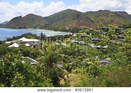 Hotel Raffles Praslin Seychelles.