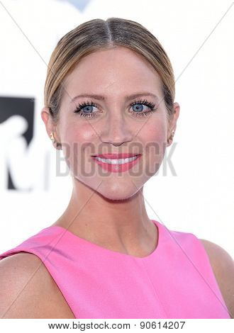 LOS ANGELES - APR 12:  Brittany Snow arrives to the MTV Movie Awards 2015  on April 12, 2015 in Hollywood, CA