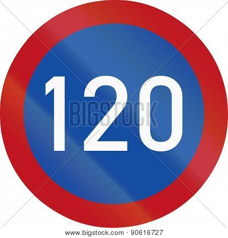 Speed Limit 120 In Botswana